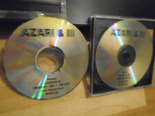 RARE PROMO Azari & III 2x CD Shimmers MIX TAPE house electronic + Dinamo Azari !