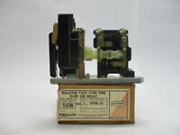 Clark/ A.O. Smith TB-139-10 Bulletin 7305 Type PMS Slim Jim Relay 600VAC 24V 5SW