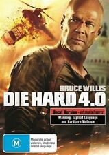 DIE HARD 4.0...SINGLE DISC EDITION...REG 4...NEW & SEALED