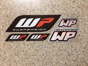 Wp Reflective Mx stickers decals graphics Kit Sheet waterproof motocross Ktm