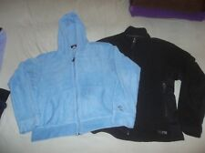 LOT Patagonia Fleece Hoodie Hoody Blue & REI Hybrid WindStopper Jacket Coat NICE