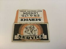 Vintage Razor Blade & Wrapper 'Service'