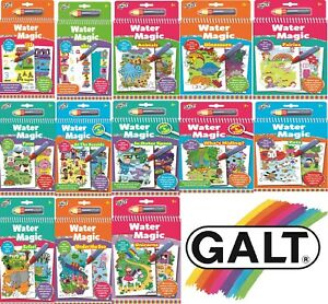 Galt Toys WATER MAGIC Reusable Pads & Colouring Books Mess Free! ✅FAST DISPATCH✅