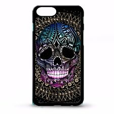 Sugar candy skull mexican aztec tattoo day of the dead graphic case cover