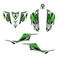 KFX 700 graphics ATV sticker kit for Kawasaki KFX700 NO1200 green