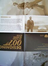 JAMES BOND + 007 + AUSSTELLUNG + LONDON + DESIGNING 007 + SEAN CONNERY +