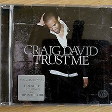 NEW - CRAIG DAVID - TRUST ME - Pop Garage Dance R&B Soul Music CD Album