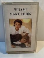 WHAM! MAKE IT BIG-VINTAGE Records EPIC UK 1984 Music cassette tape album