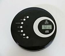 Onn Portable Cd Player Ona12Av025 W/ Anti Skip Cd-R/Rw Playback