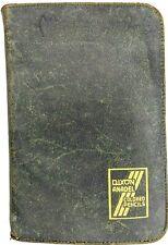 RARE Leather Dixon Anadel Colored Pencil Carrying CASE Holder Storage Binder Vtg