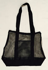 Extra Large Mesh Beach Bag with Pocket Storage, Laundry Tote, Swim Bag