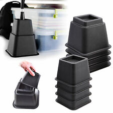 8pcs Elephant Feet Lifter Chair Bed Risers Furniture Extra Bed Raisers Stand