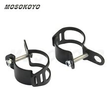 Universal Motorcycle Turn Signal Brackets Mount For Cafe Racer Chopper 27mm-31mm