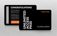 Pluralsight 1 Month (ONE month) Personal Membership Full Access All Courses