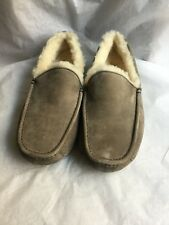 UGG Men's Ascot Moccasin Slippers Charcoal Size 9