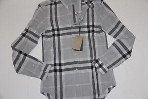 NWT Burberry Brit Men Nova ChecK Pale Shirt Small S