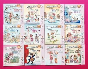 Fancy Nancy Phonics Books Fun Set I Can Read Early Readers Lot 12
