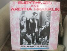 EURYTHMICS & ARETHA FRANKLIN sisters are doin' it for themselves 2mixes 3trk 12""