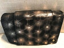 NEW Halston Heritage Black Clutch Wallet Crossbody Bag On A Chain!