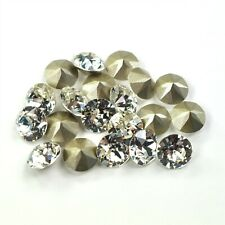 Clear Crystal Swarovski 39ss 1088 Crystal 8mm Xirius Chatons 12 Pieces