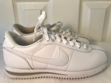 Nike Cortez White Leather Mens Sneakers Sz 7 Running/Casual Shoes 316418-113