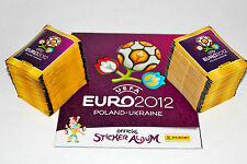 Panini EM Euro 2012 – 200 Tüten packets + Leeralbum album INTERNATIONAL VERSION