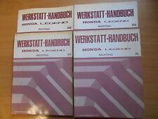 4 x Werkstatthandbuch Nachtrag Honda Legend 1992/93/94/95
