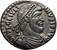 JULIAN II the APOSTATE 362AD Rare Silver Siliqua Ancient Roman Coin i60681