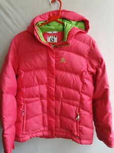 Salomon Womens Down Jacket Coat Warm XL 14Y 164cm