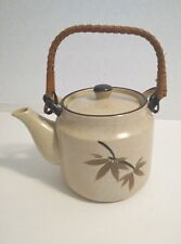 Tea Pot Tan And Brown Good Condition No Chips Or Cracks Used Ceramic Decorative