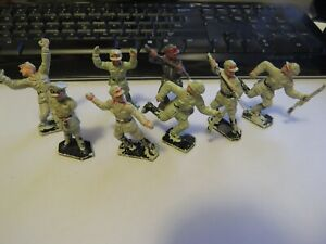 Lone Star German Toy Soldiers x 8