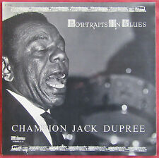 CHAMPION JACK DUPREE   LP ORIG FR   PORTRAITS IN BLUES  STORYVILLE
