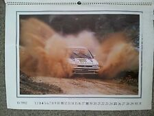 SUBARU LEGACY 4WD TURBO PORTUGAL RALLY 1991 CHATRIOT/PERIN PICTURE