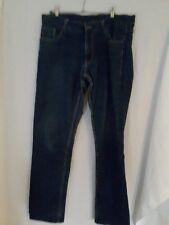 Ladies slim fit jeans 87cm suit 14 ish blue