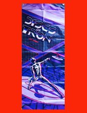 LARGE Discs of Tron Arcade Video Game Banner Flag Poster