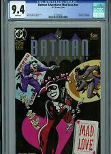 Batman Adventures Mad Love CGC 9.4 NM 1993 DC Comics Origin Harley Quinn  B20