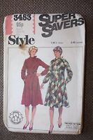 Style Sewing Pattern Misses Pullover Dress Size 16 - 18