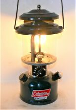 Clean Coleman 214 kerosene lantern, in box with instr and bottle, burns good.