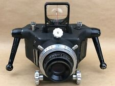 Jerome Type N1 70mm Military Aerial Camera w/ 5-1/2 Inch F/4.5 Ilex - Very Rare