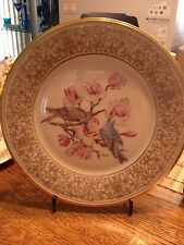 Lenox Annual Limited Edition Boehm Mountain Bluebirds 1972 dish