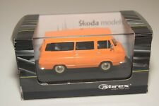 A2 1:43 ABREX SKODA 1203 VAN BUS ORANGE MIB RARE