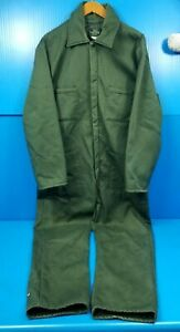 Vintage Military Green SEARS Insulated Coveralls Work or Leisure - Size 40 Reg