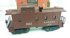 Vintage Lionel # 6557 O Gauge Illuminated  Smoke Caboose