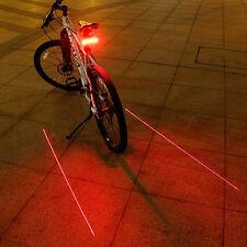 Télécommande LED sans fil Laser Lampes de Vélo lumière clignotants Arrière Bike