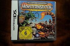 Kampf der Giganten Monsterinsekten Nintendo DS - Deutsch - Komplett OVP Handbuch