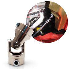 """1""""-48 Spline X 3/4"""" DD Double D Steel Steering U Joint SS U-Joint spline custom"""