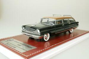 Lincoln premiere wagon 1956 Black - Copper #087 From 150 1/43 GIM GIM013A New