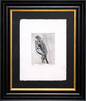 Stanley HAYTER Etching Ltd. Edition Hand SIGNED w/Archival Frame