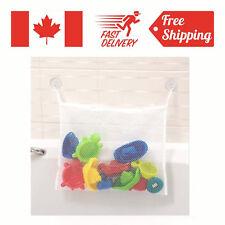 Bath Tub Organizer Bag Holder Storage Basket Kids Baby Shower Toys Net Bathtub
