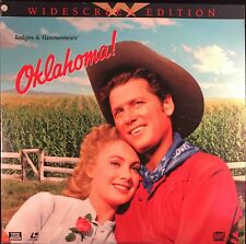 OKLAHOMA! - 2 LASERDISC SET -  CBS/FOX HOME VIDEO THX 2 DISC SET